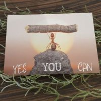Ansichtkaart: Yes you can